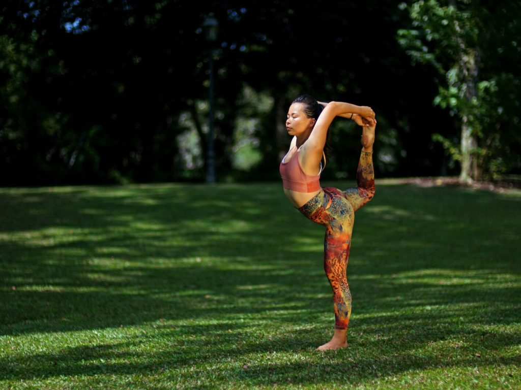 Natarajasana (King Dancer's)