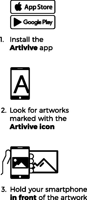 Artivive instructions painting